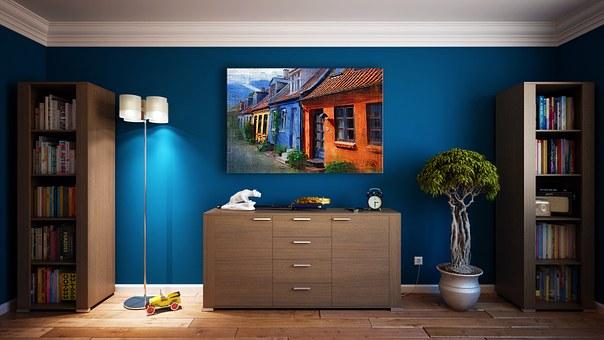Дизайна интерьера с использованием комнатных растений