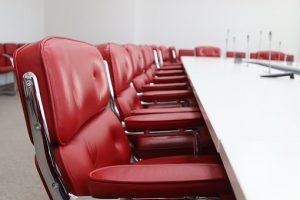 Как выбрать мебель для переговорных?
